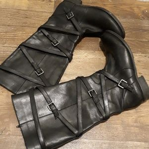 Arturo Chiang Leather boots sz.8M